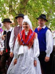 Člani folklorne skupine Duplo iz Pišec.