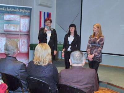 Metka Starič, Marjana Dolšina in Martina Tekavec iz Zavoda Parnas. (od leve proti desni). (Foto: a.k.m. )