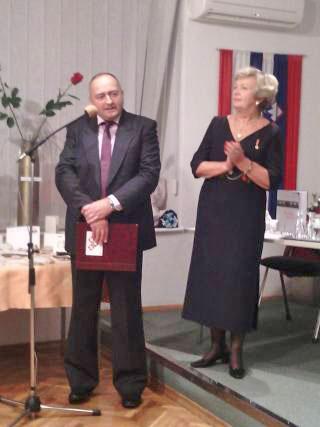 Katarina Furjan in Ivica Matošević. Foto: akm