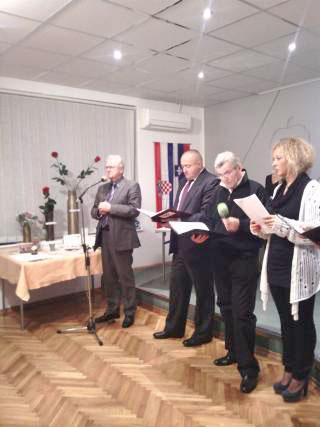Darko Šonc, Ivica Matošević, Vjekoslav Pandurić, Arijana Mrzljak (z leve). Foto: akm
