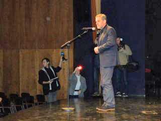 Nagovor zagrebškega župana Milana Bandića. Foto: akm