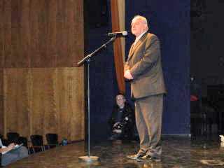 Nagovor predsednika Sveta za narodne manjšine RH Aleksandra Tolnauerja. Foto: akm