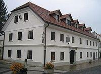 Maistrova rojstna hiša v Kamniku. Foto: akm