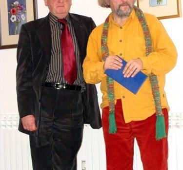 Darko Šonc i Zijah Sokolović. 25.3.2009. Slovenski dom, Zagreb.