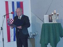 Ministar za Slovence u pograničnom području i u svijetu dr. Boštjan Žekš.
