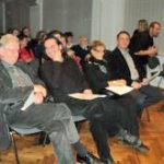 Žiri: Igor Požar, Maja Gorše Mihaljević i Damir Gregurić u društvu predsjednika Vijeća Darka Šonca (s desna nalijevo)