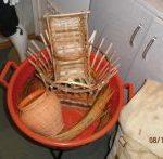 Košare i glinene posude koje su napravile vrijedne ruke Adama Ključevšeka