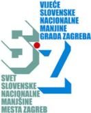 logo Vijeće slovenske nacionalne manjine Grada Zagreba