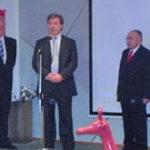 Darko Šonc, Vojko Volk, Franc Strašek (s lijeva nadesno). Foto: a.k.m