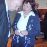 Ravnateljica Sveučilišne knjižnice Maribor u društvu s glumcem Ivicom Kunejem. Foto: a.k.m.