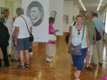 Isječak s izložbe Narod si bo pisal sodbo sam - Slovenija od ideje do države u Pokrajinskom muzeju Kočevje, 30.6.2012. Foto: a.k.m.