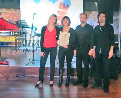 Pobjednici 3. Music extreme festivala: sastav Ba-rock iz Radovljice.