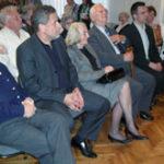 Franc Strašek, Milan Bandić, Pavica i Oto Reisinger, Frano Dulibić (s lijeva nadesno)