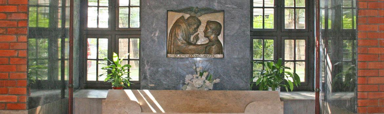 Kripta u crkvi Sv. Marije Lurdske