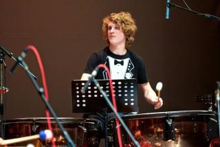 Gregor Hrovat. Foto: Facebook Sudar Percussion